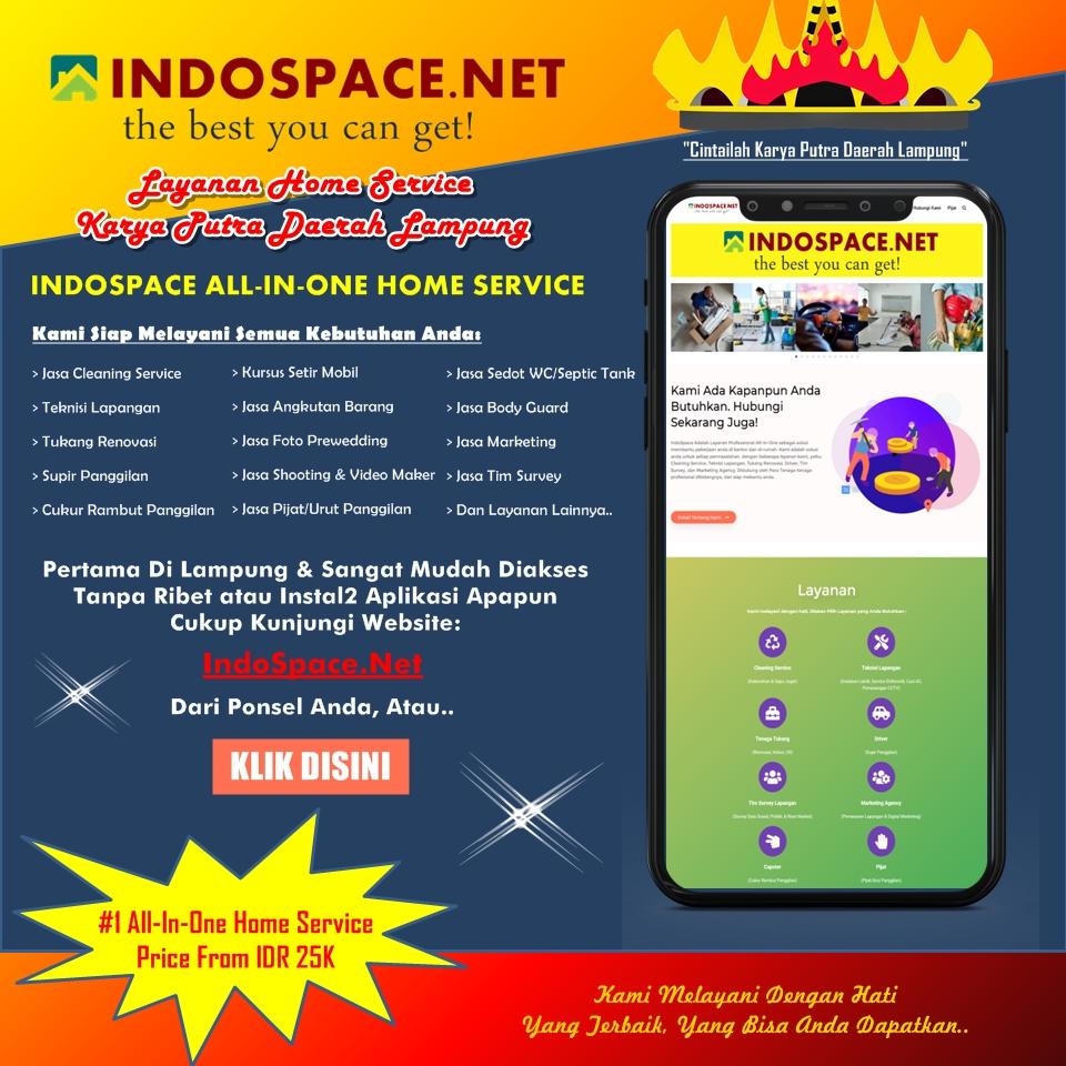 Indospace Adalah Jasa All In One Pertama di Bandar Lampung