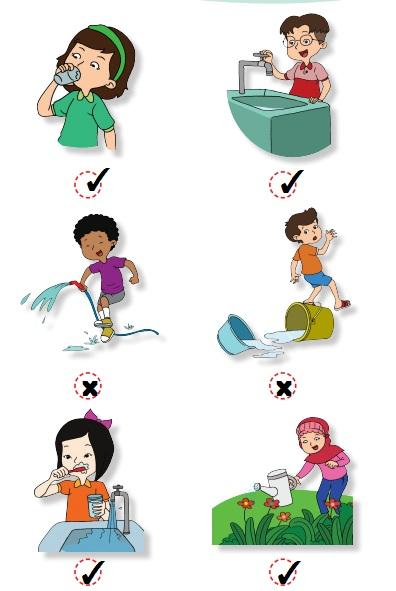 perilaku yang menunjukkan kewajiban menghemat air www.simplenews.me
