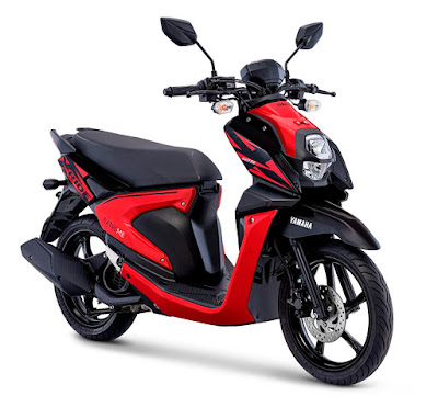 All New X-Ride Attractive Red (merah hitam)