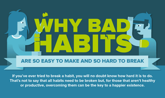 Why Bad Habits are so Easy to Make and so Hard to Break