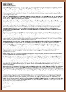 Berikut pidato resmi kenegaraan yang disampaikan oleh Wakil Presiden ketika saat itu adaah bapak Boediono saat puncak acara Hari Nusantara tahun 2010 di Balikpapan, Kalimantan Timur.