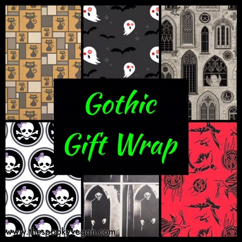 Gift Wrap for Goths and Other Darklings