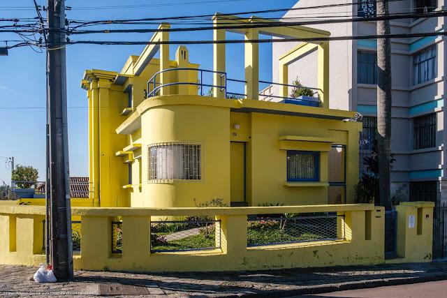 Casa Kirchgässner - imoportante para a história de arquitetura brasileira