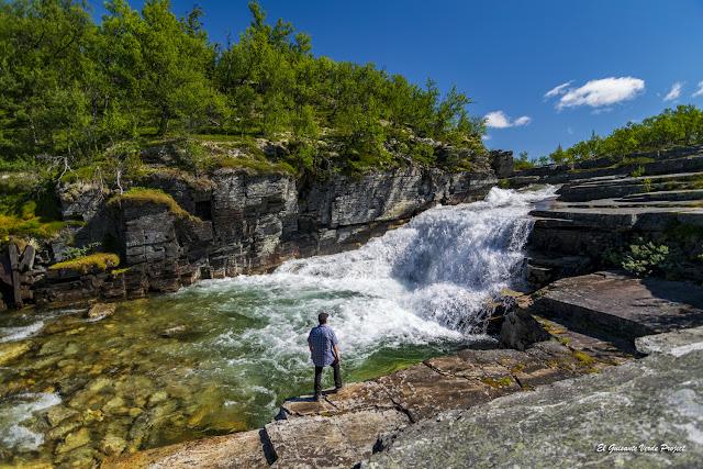 Saltos de agua en el río Ula - Rondane, por El Guisante Verde Project