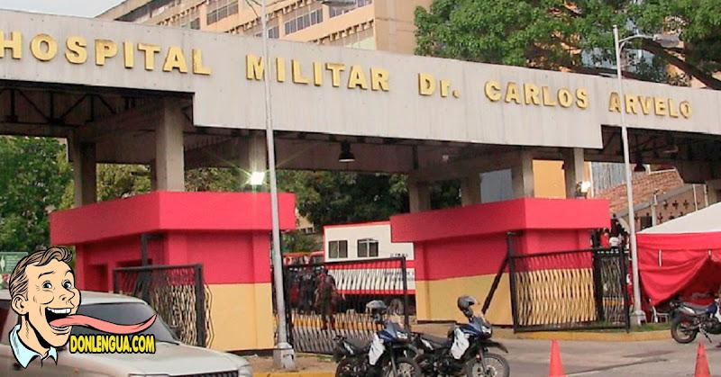 Delincuentes armados robaron insumos del Hospital Militar de Caracas