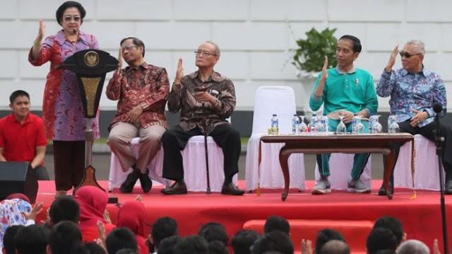 Megawati Tantang yang Tuduh Presiden Joko Widodo Pemimpin Diktator