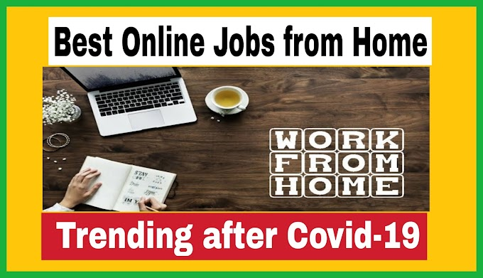 Best Online Jobs from Home – No Investment