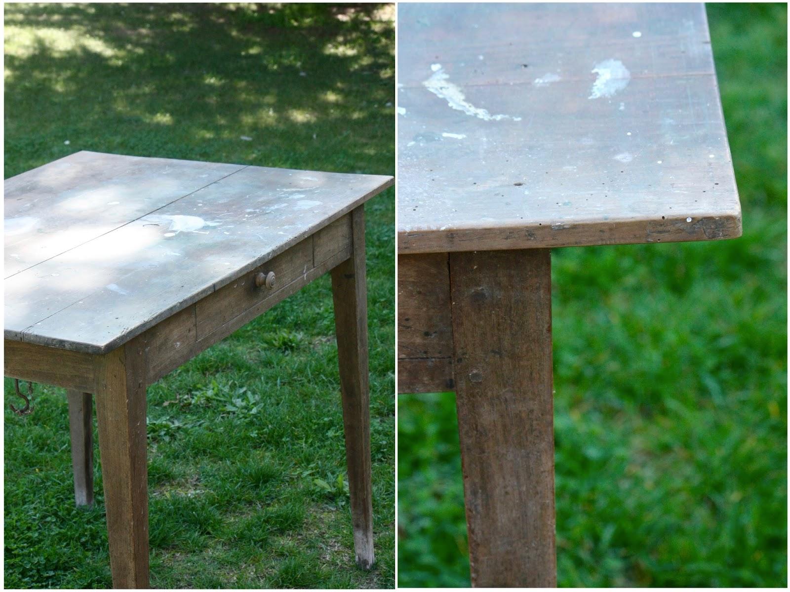 Relooker Une Table En Bois un nouveau regard: les grandes étapes pour relooker un