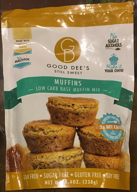 Image of Good Dee's Low Carb Base Muffin Mix package