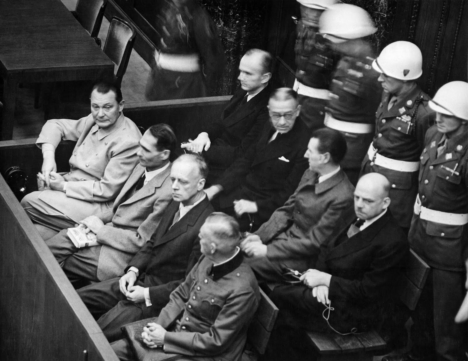 Nuremberg Trial. Defendants