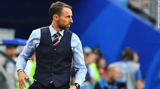 England head coach Gareth Southgate