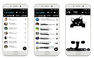 Black Cat Theme For YOWhatsApp & Fouad WhatsApp By Leidiane