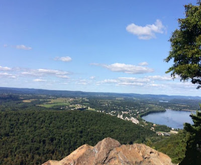Hiking at Hawk Rock in Duncannon Pennsylvania