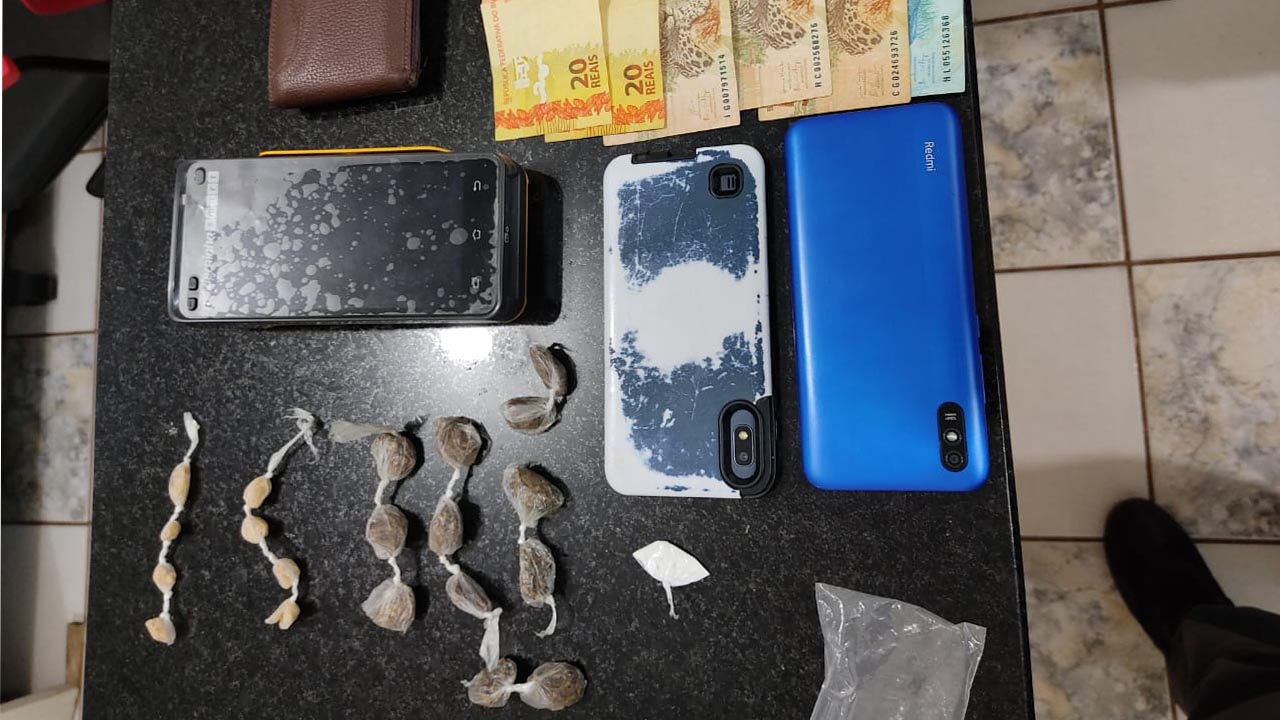 Dono de Quiosque é apreendido por suspeita de tráfico de drogas em Itatinga