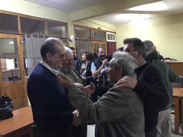 Θερμή υποδοχή Νίκα σε χωριά της Λακωνίας