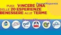 Logo Con Glade, Oust, Duck, Pronto, Shout e Mr Muscle vinci Smartbox ''Benessere alle Terme''