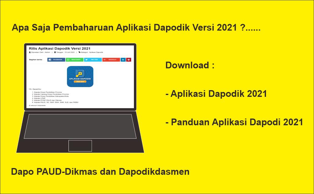 Download Aplikasi Dapodik 2021