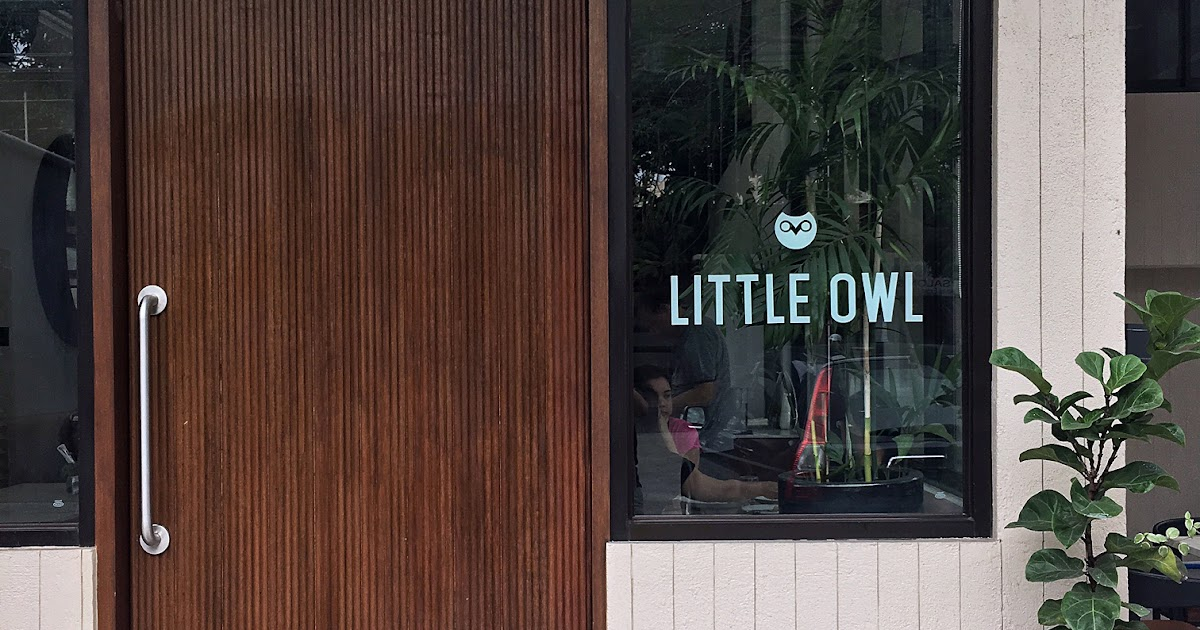 Little Owl Cafe: A Lovely Brunch Cafe in New Manila