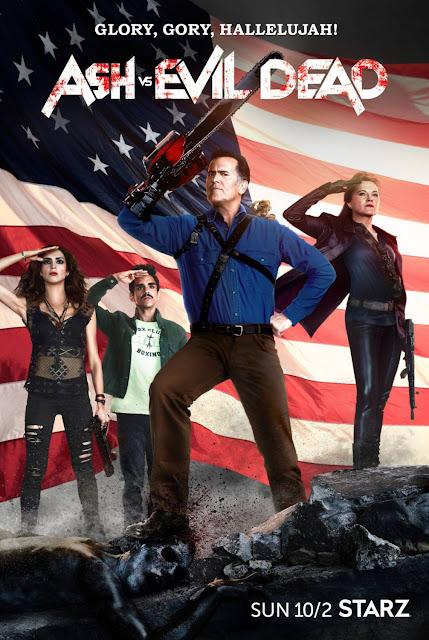 "Ash vs Evil Dead Season 2 ""Glory, Gory, Hallelujah!"" Teaser One Sheet Television Poster"