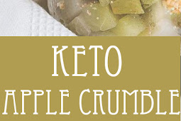 No Bake Keto Apple Crumble – Fall Dessert Recipe