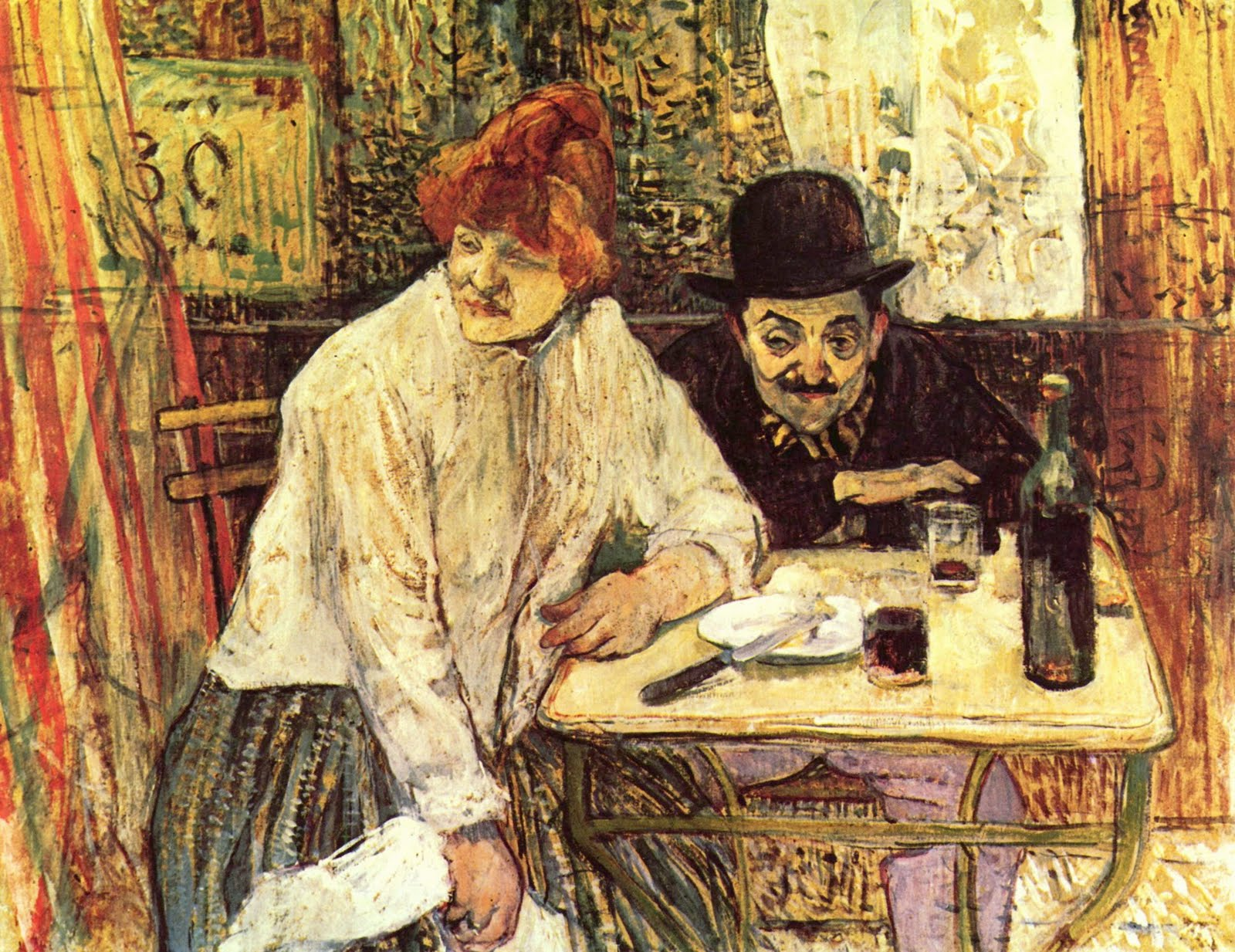 Henri de Toulouse-Lautrec 1864–1901 | Les Nabis - Post-Impressionist Painting Group