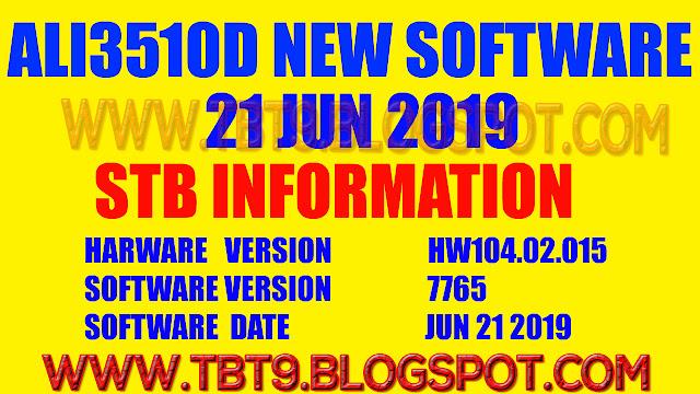 ALI3510D HARDWARE 104.02.015 POWERVU TEN SPORTS OK NEW SOFTWARE
