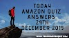 Today Amazon Quiz Answers - Today's Answer Of Galaxy Tab Quiz