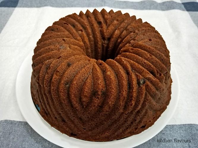 Ottolenghi Rum Raisin Cake