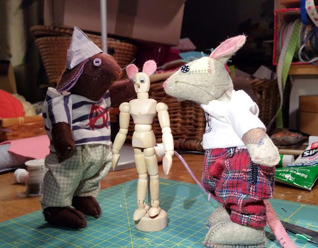 dummy, mannequin, souris, mouse, diy, bricolage