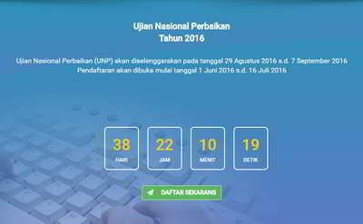 ujian nasional perbaikan 2016