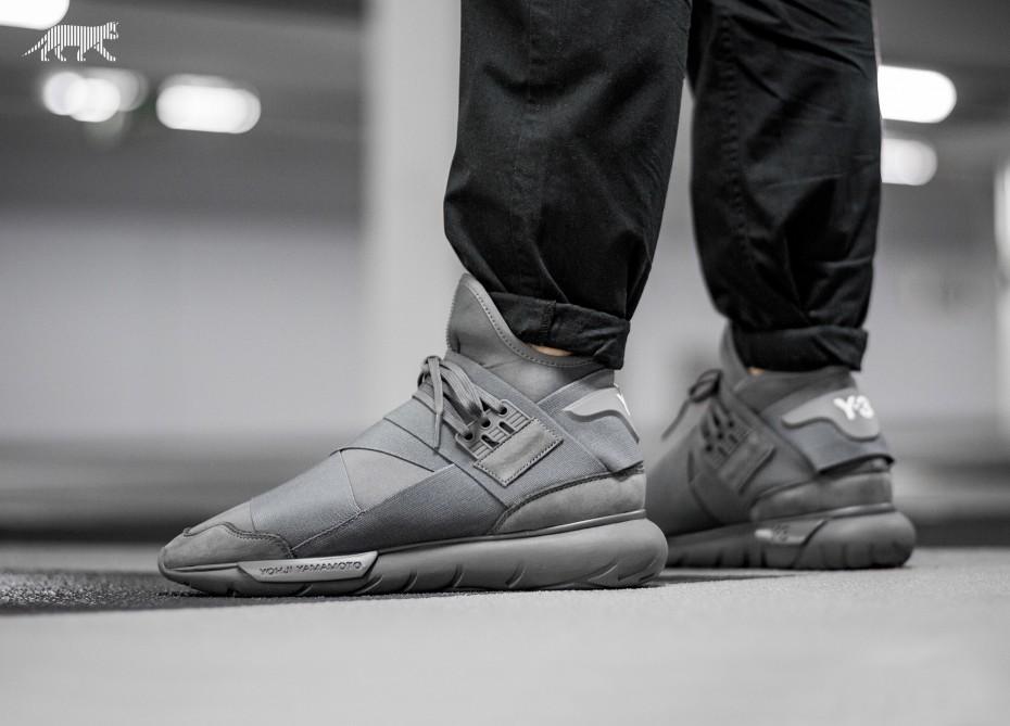 Kicks  Adidas Y-3 Qasa High  Vista Grey  . 93a8e9090f