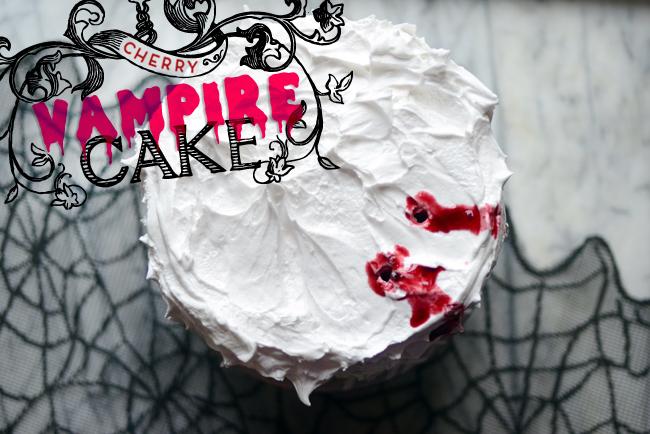 Pixel Whisk Cherry Vampire Cake