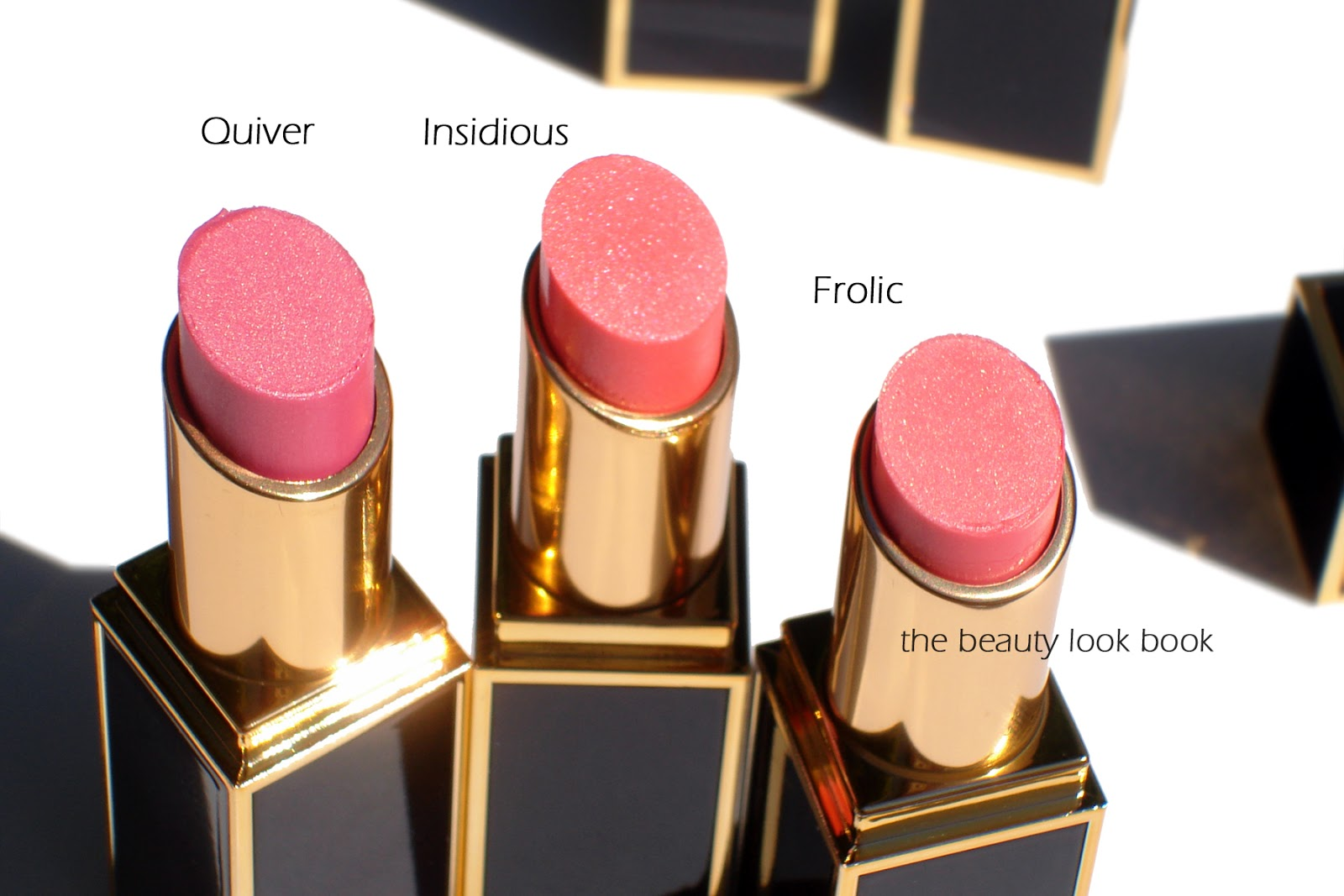 tom ford lip color shine quiver insidious and frolic the beauty look book. Black Bedroom Furniture Sets. Home Design Ideas