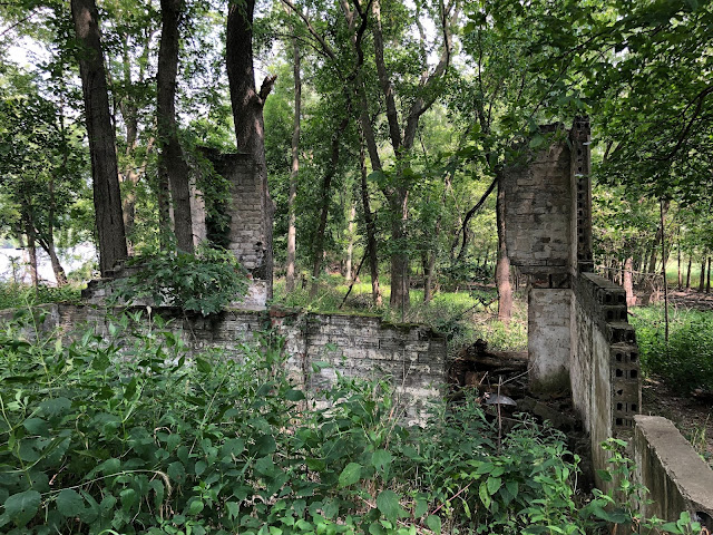 Ruins add an element of tangible history on Smith's Island.