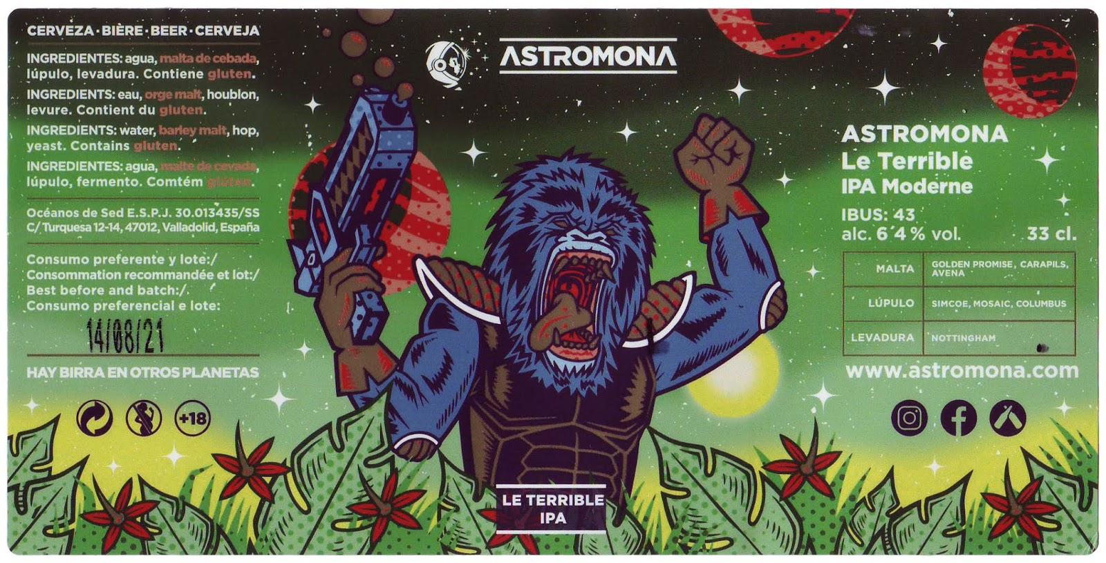 Astromona Le Terrible