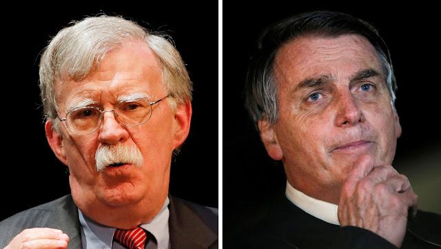 """Bolton revela que Brasil aseguró en 2019 que el final de Maduro """"estaba en el horizonte"""""""