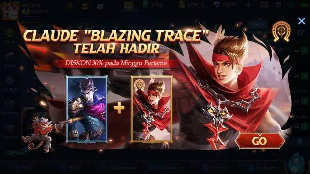 skin claude epic normal mobile legends