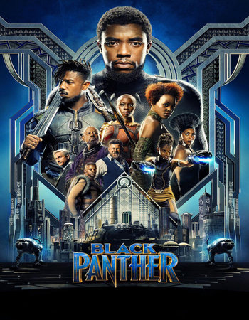 Black Panther (2018) Hindi Dubbed 720p