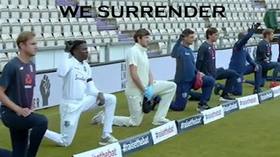 cricketers take the knee
