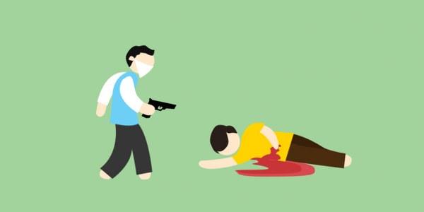oknum polisi nekat bunuh istri