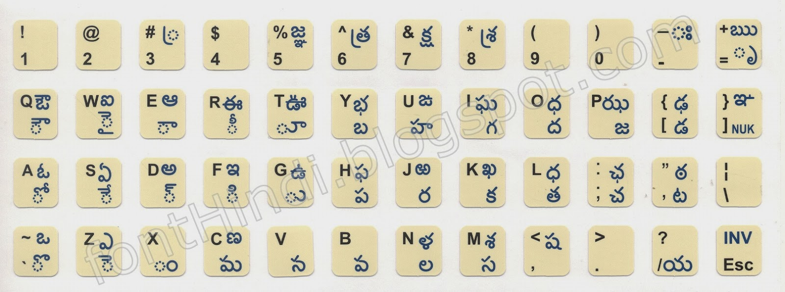 Keyboard Pictures With Fonts: Learn New Things: MS Word 2016