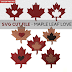 Layered Faux Leather Maple Leaf Love Earrings Tutorial | New SVG Cut File