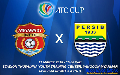 Ayeyawady United vs Persib
