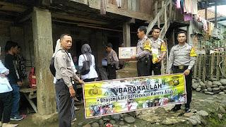 Desa Bedegung Mendapat Kunjungan Santunan Barakallah Polsek Tanjung Agung