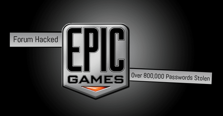 Epic Games Forum Hacked, Once Again — Over 800,000 Gamers' Data Stolen