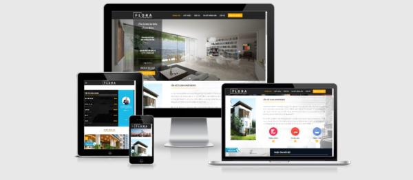 Theme bất động sản WordPress giới thiệu dự án Flora Apartment