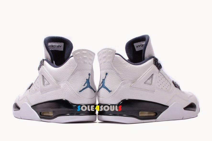 "cheaper ae401 3ec06 Price   MYR 1071   USD 300 (Shipping not included) Colorways  WHITE LEGEND  BLUE-MDNGHT NAVY Release Date  10 Jan, 2015. The Air Jordan 4 "" ..."
