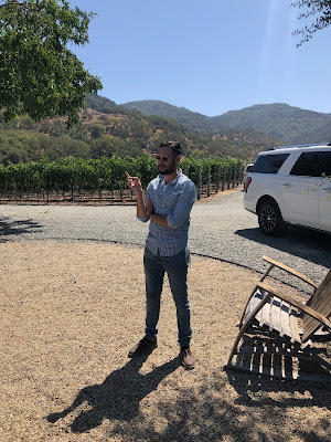 Our Porter Family Vineyards Host, Luis