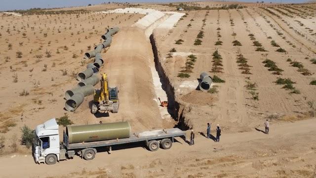 Bozova projesi ile 31 bin dekar arazi suya kavuşacak
