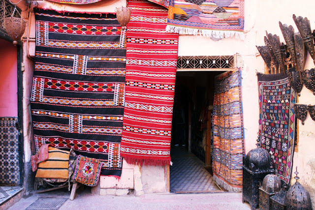 Traditional shop in Marrakech, Morocco